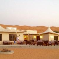 Wahiba Sands: resort tendato presso al-Wasil