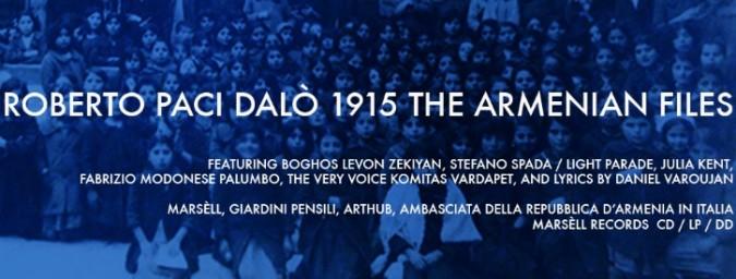 Gli 'Armenian files' di Paci Dalò: come narrare un genocidio con parole e musica