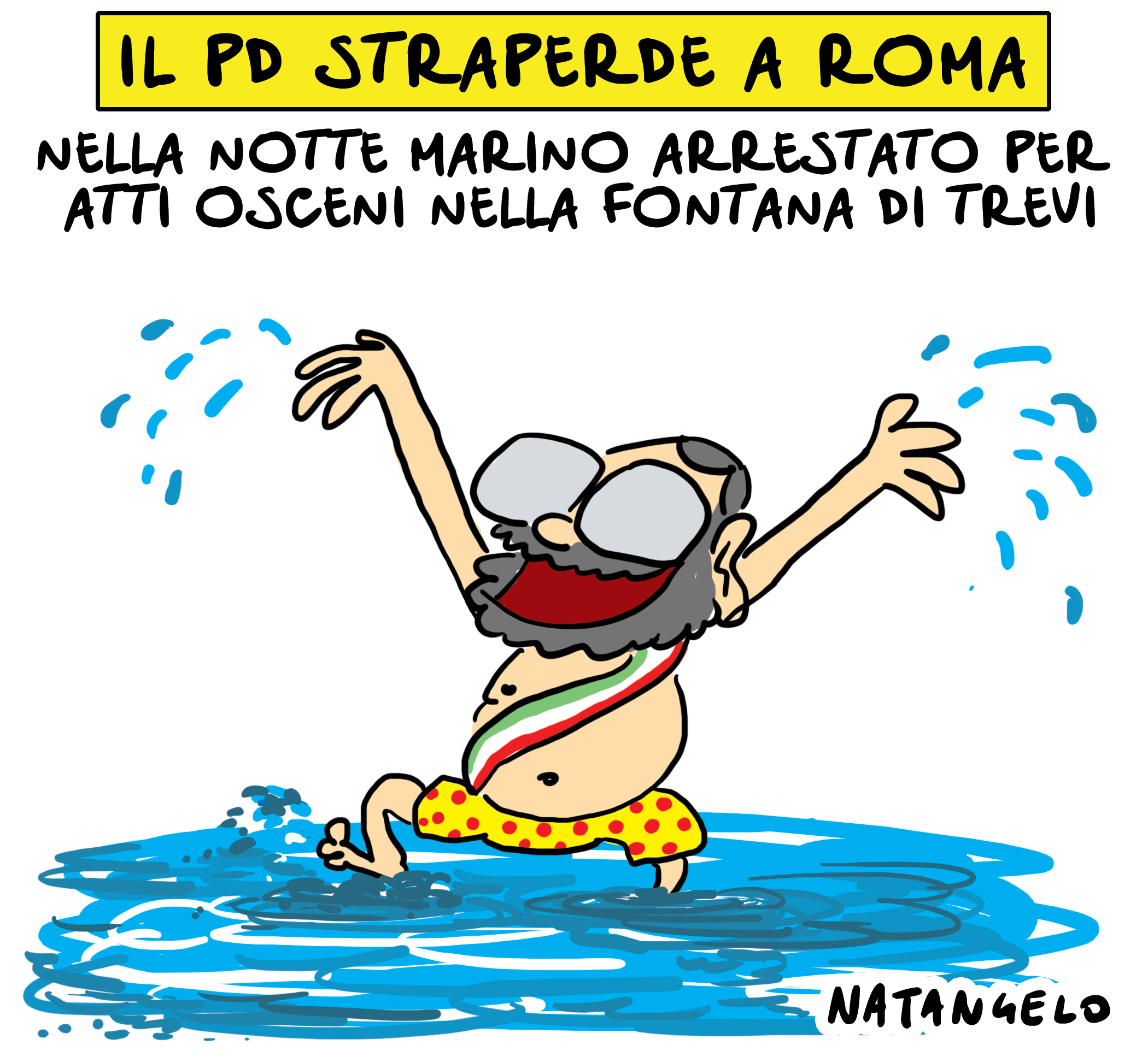 Il Pd straperde a Roma