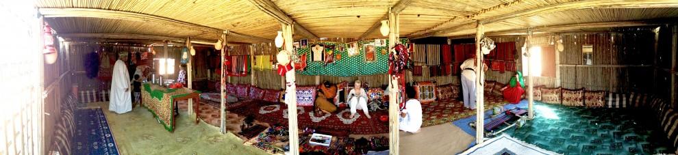 La tenda beduina