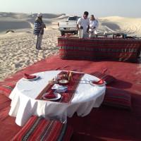 Nel deserto con qualche comodità