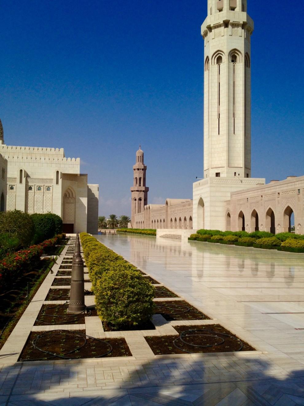 Muscat: la Grande Moschea