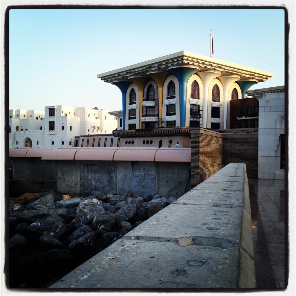 Muscat: il bizzarro palazzo reale
