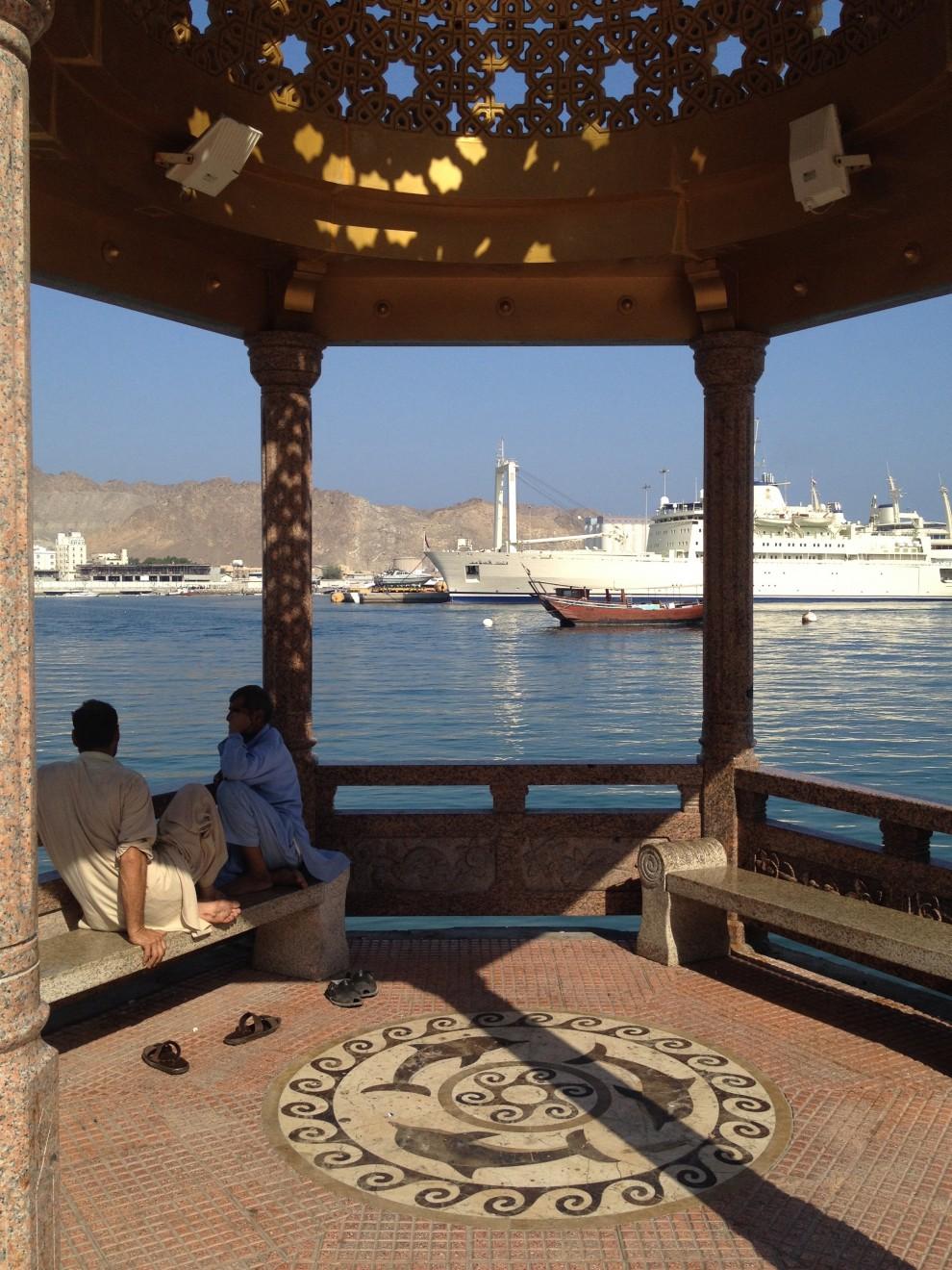 Muscat: il lungomare