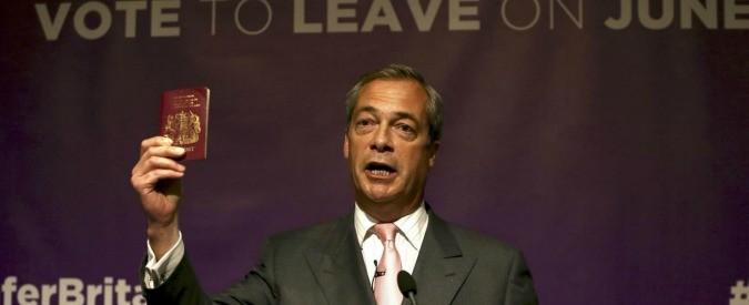 Brexit, e se fosse un'opportunità?