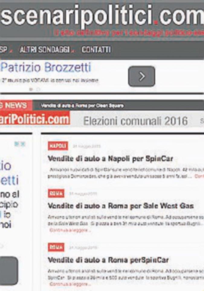 Sondaggi clandestini: come vanno Renzault, Bugrilli & C