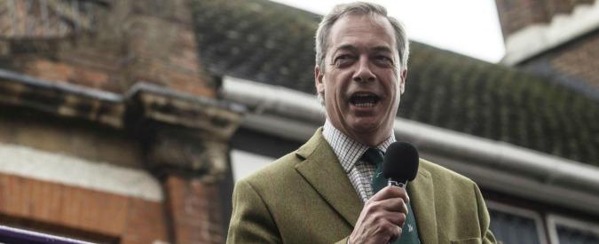 """Brexit, Parlamento Ue: """"Il partito euroscettico Ukip restituisca i fondi europei spesi per elezioni e referendum"""""""