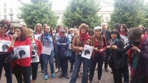 Flash mob contro la violenza ale donne