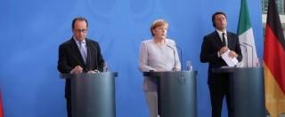 """Brexit, vertice Ue Germania-Italia-Francia: """"Prima serve richiesta formale di Londra. Ma non c'è tempo da perdere"""""""