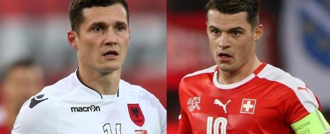 Europei 2016, Svizzera-Albania: i fratelli Xhaka uno contro l'altro nella sfida dell'accoglienza elvetica