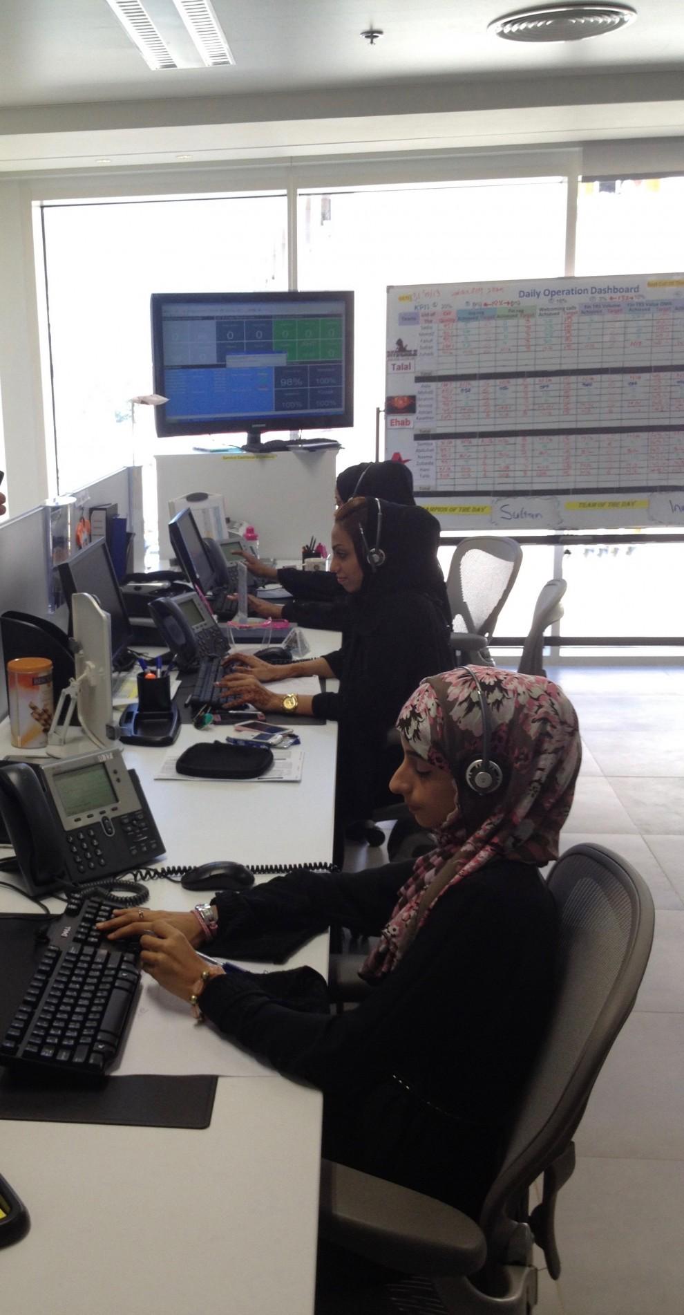 Muscat: impiegate di banca