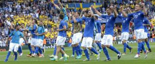 Italia-Svezia 1-0. Il pagellone: Bonucci-Chiellini-Barzagli ancora perfetti. Eder decisivo, bene Florenzi e Zaza