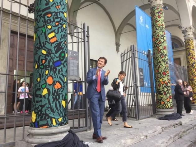 Inaugurazione colonne Balestrini ph Sabrina de Gaetano