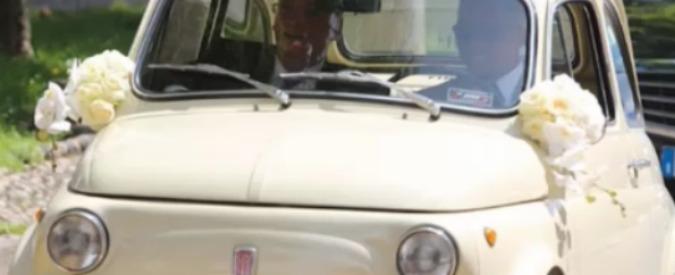 Samuel Eto'o sposa Georgette Tra Lou. Il giocatore si presenta in Fiat 500 – Video
