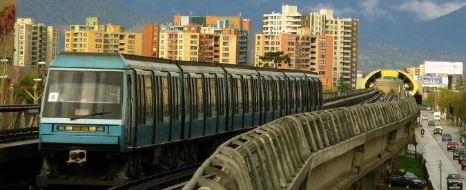 Santiago del Cile, la metropolitana alimentata da sole e vento