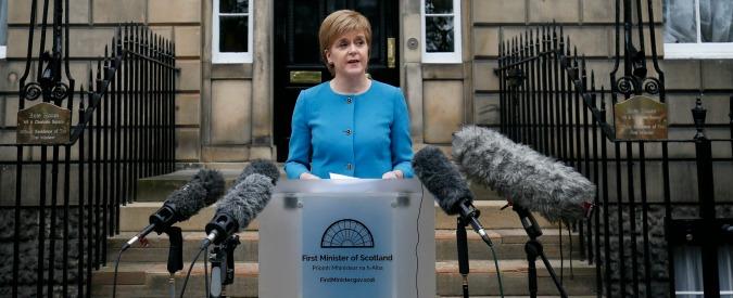 """Brexit, la Scozia vuole rimanere nell'Ue """"Più importante dell'indipendenza da Uk"""""""