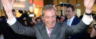 """Nigel Farage si dimette da leader Ukip: """"Il mio obiettivo politico era la Brexit"""". Ma rimane al Parlamento europeo"""