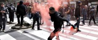 """Francia, guerriglia al corteo contro riforma del lavoro: """"42 fermi a Parigi, almeno 40 feriti"""" – FOTOGALLERY"""