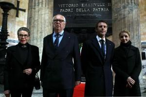 Pantheon, cerimonia per il 150mo anniversario dell'Unita' d'Italia