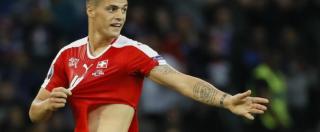 """Europei 2016, Svizzera-Francia: si strappano sette magliette. """"Spero che lo sponsor non fabbrichi preservativi"""""""
