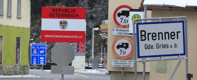 """Migranti, Austria: """"Se l'Italia concede i visti umanitari, chiudiamo il Brennero"""""""