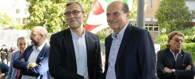 """Pd, Bersani: """"C'è bisogno che qualcuno abbia cura del partito. Dimissioni Renzi da segretario? Premessa per lavorare"""""""