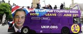Brexit, gli economisti tifano 'Remain'. Tutti gli effetti del 'Leave', dal crollo della sterlina alla perdita di posti di lavoro
