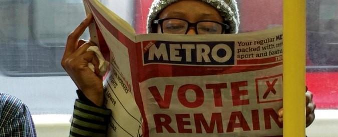 Gran Bretagna, leave o remain: diario da Londra