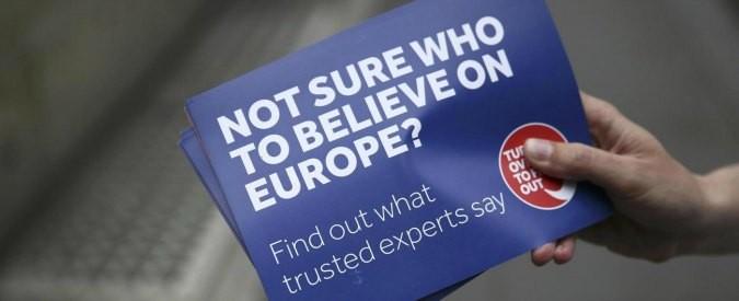 Brexit, lo specchietto per le allodole dell'uscita dall'Unione Europea