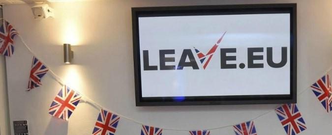Brexit, una scossa salutare per riesaminare tutto: serve l'unione politica