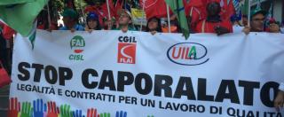 """Caporalato, diecimila a Bari per chiedere una legge che tuteli i braccianti: """"Nei campi per pochi euro e senza diritti"""""""