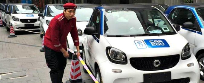 Car sharing, car2go fa breccia anche in Cina. Per necessità, ma anche per moda