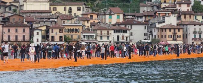 The Floating Piers, costi stimabili fino a 5 milioni. Numeri da Expo sulle spalle di pendolari e ambiente