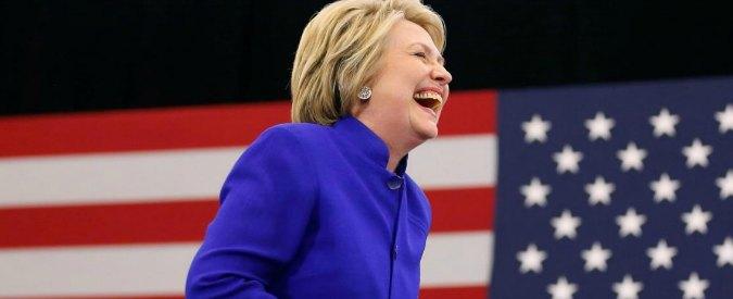 """Primarie Usa 2016, Clinton vince la candidatura democratica: """"Abbiamo sfidato la storia"""""""