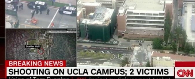 Los Angeles, sparatoria in campus Ucla: due morti. Ipotesi omicidio-suicidio