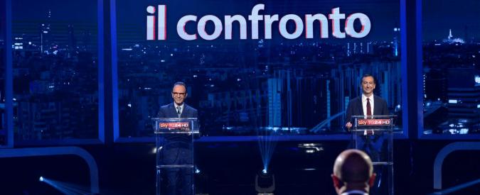 Elezioni amministrative Milano: Sala e Parisi si confrontano su Sky Tg24. Al centro verde e migranti. E qualche gaffe