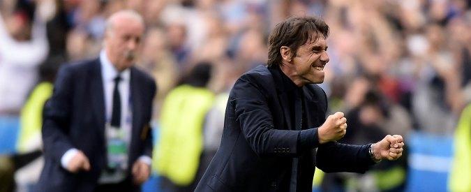 """Italia – Spagna 2-0, Conte: """"I ragazzi sono stati straordinari. L'Italia non è il catenaccio"""""""