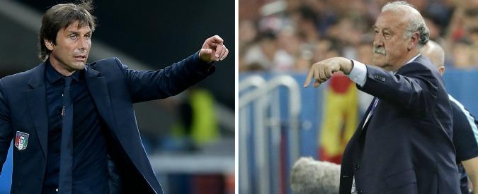 """Italia-Spagna, gli ultimi dubbi di Conte. Che ha una certezza: """"Se pensiamo, perdiamo. Dobbiamo andare oltre la ragione"""""""
