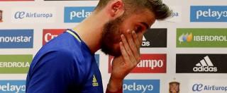 """Europei 2016, il portiere della Spagna coinvolto in una vicenda di violenza sessuale: """"Tutte bugie"""""""