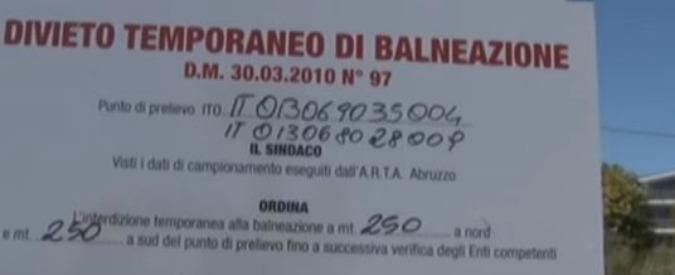 Pescara, mare inquinato: chiesto processo per sindaco e vice. A un anno dall'incidente situazione ancora critica