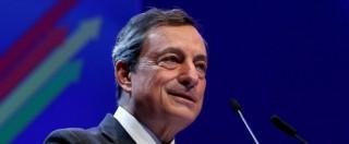 """Brexit, Draghi: """"L'uscita del Regno Unito dall'Ue può frenare la crescita: peserà fino allo 0,5% sul Pil della zona euro"""""""