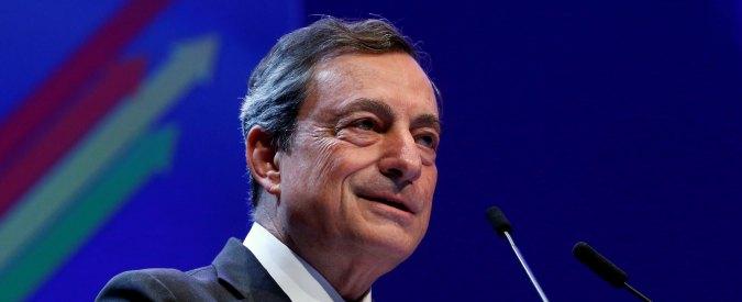 """Banche, Draghi: """"In Europa troppi istituti, l'eccesso di concorrenza riduce i margini di profitto del settore"""""""
