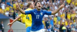 Italia-Svezia 1-0. Decide un grande gol di Eder, Italia qualificata agli ottavi
