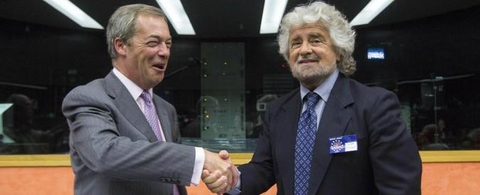 Brexit: cinquestelle, state alla larga da Farage