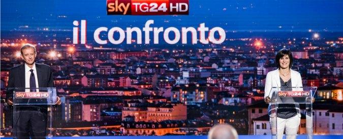 Comunali Torino 2016, il confronto su SkyTg24 dal Tav alla povertà. E il televoto sceglie la candidata M5s Appendino