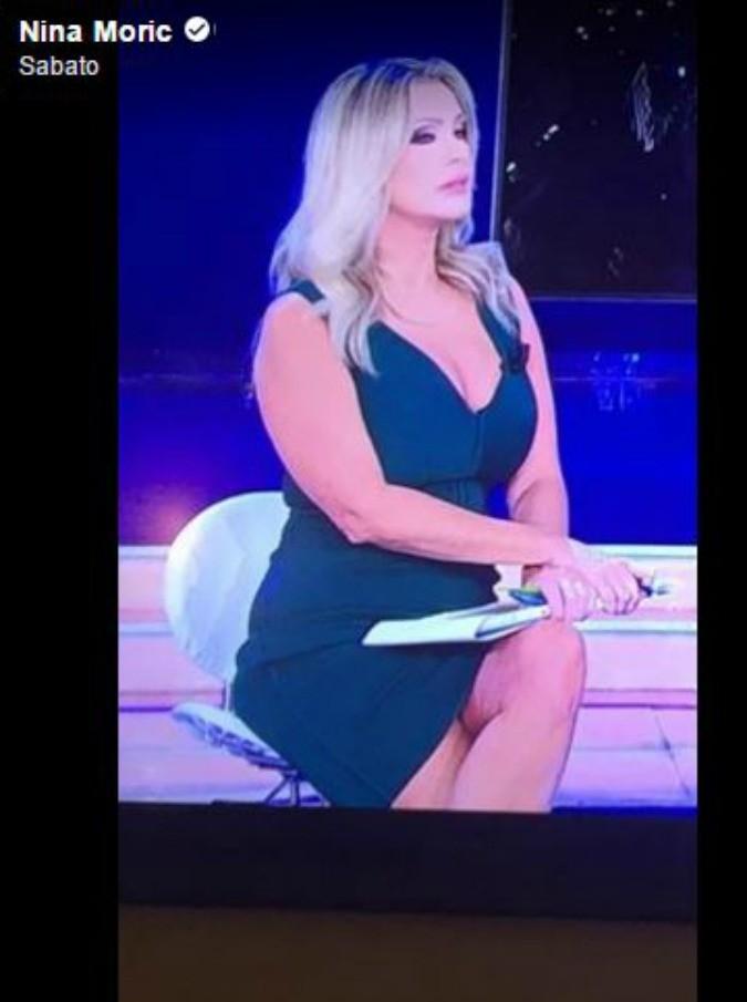 """Nina Moric vs Paola Ferrari: """"Pur di non vedere tutta quella cellulite vado io in Rai gratis"""""""