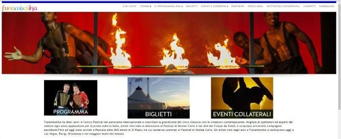 Pescara, il festival internazionale Funambolika porta sul palco il 'nuovo circo'