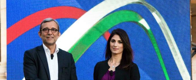 Elezioni Roma, la sfida tv tra Roberto Giachetti (Pd) e Virginia Raggi (M5s) su rifiuti, debito e Olimpiadi