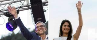 """Ballottaggio Roma, scontro finale Raggi-Giachetti: """"Dal Pd solo fango"""", """"Lei commette reati e poi ci dice onestà"""""""
