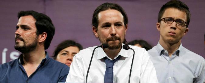 """Elezioni Spagna, Podemos non si arrende. Iglesias: """"È il momento di riflettere. Il partito non prostituirà mai"""""""